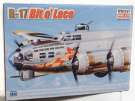 Minicraft Model Kit 14519 B-17 Bit O' Lace Plastic Aircraft Model 1/144 Scale