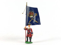 Garibaldi & Co Toy Soldiers J6 Barrel's Regimental Standard