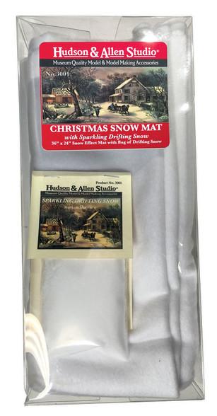 Hudson Allen Studios HA3001 - Christmas Snow Mat
