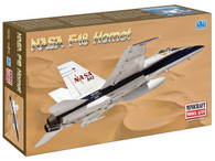 Minicraft Model Kit 11656 NASA F-18 Hornet Plastic Aircraft Model 1/144 Scale