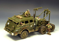 King & Country Toy Soldiers DD104 M26 Armoured Recovery Vehicle LE1250 Retired