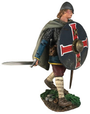 """W Britain Wrath of the Northmen 62130 """"Kenway"""" Saxon Advancing with Sword"""