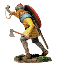 "W Britain Wrath of the Northmen 62132 ""Arnljot"" Viking Advancing Blowing Horn"