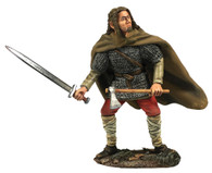 "W Britain Wrath of the Northmen 62133 ""Brandr"" Viking Attacking with Sword and Axe"