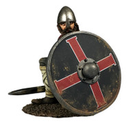 "W Britain Wrath of the Northmen 62124 ""Seaver"" Saxon Shield Wall Defender"