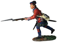 W Britain 16054 42nd Royal Highland Regiment Battalion Coy Charging No.1, 1760-63