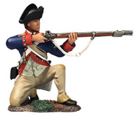 W Britain 16061 Continental Line Kneeling Firing 1777-87