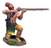 W Britain 16064 Native Warrior Kneeling Firing No.2