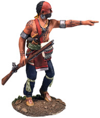 W Britain 16065 Native Warrior Advancing Pointing