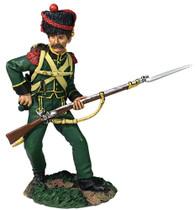 W Britain 36173 Nassau Grenadier Reaching for Cartridge No.2 1815