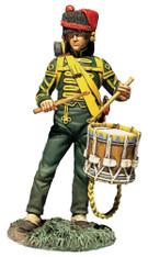 W Britain 36181 Nassau Grenadier Drummer