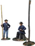 W Britain 31281 U.S. Telegraphy Corps Set No.1
