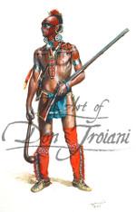 Shawnee Indian Warrior - French & Indian War