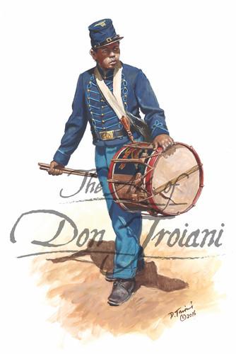 54th Massachusetts Drummer - American Civil War