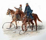 Stonewall Jackson and Pendleton - American Civil War