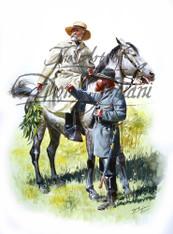 Robert E. Lee and A.P. Hill - American Civil War