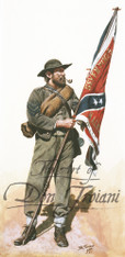 11th Mississippi Color Bearer - American Civil War