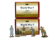 "WBritain 23088 A Friendly Game and 23086 ""Look at Him Go"" 1914 Christmas Truce Set 1 & 2"