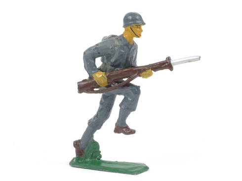 Authenticast Comet Infantry Advancing 1946 Blue Uniform