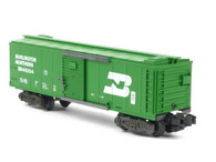 American Flyer Authentic S Gauge Train Burlington Northern Boxcar 6-483043