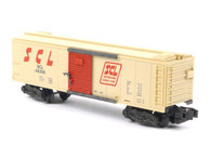 American Flyer Authentic S Gauge Train Seaboard Coast Line Boxcar 6-48306