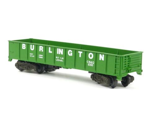 American Flyer Authentic S Gauge Train Burlington Northern Gondola 4-9300