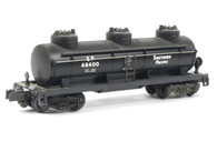 American Flyer Authentic S Gauge Train Southern Pacific 3 Dome Tank Car 6-48400