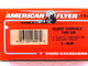 American Flyer Authentic S Gauge Train Gilbert Chemicals Tank Car 6-48407