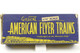 American Flyer A C Gilbert Baltimore & Ohio S Gauge Train 633 Box Car