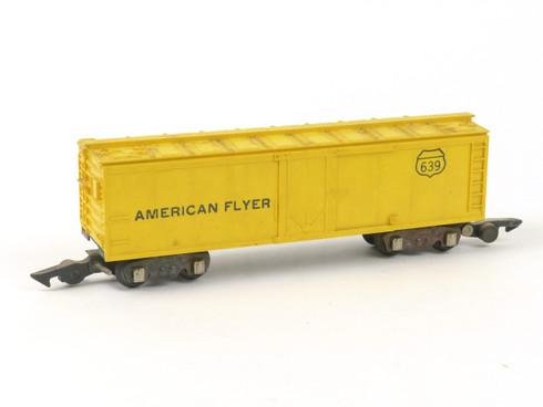 American Flyer A C Gilbert S Gauge Train American Flyer 639 Box Car