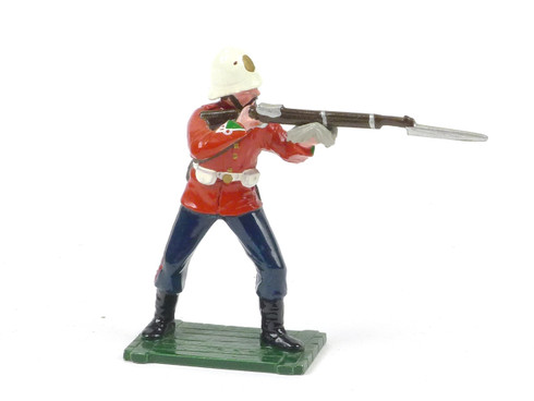 Trophy Miniatures Zulu War 24th Foot Standing Firing Traditional Models for the Collector