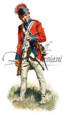 Fifer 2nd Continental Art 1782 - American Revolution