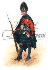 Sgt. Gren Royal Highland Emig 2nd Batt 1777 - American Revolution