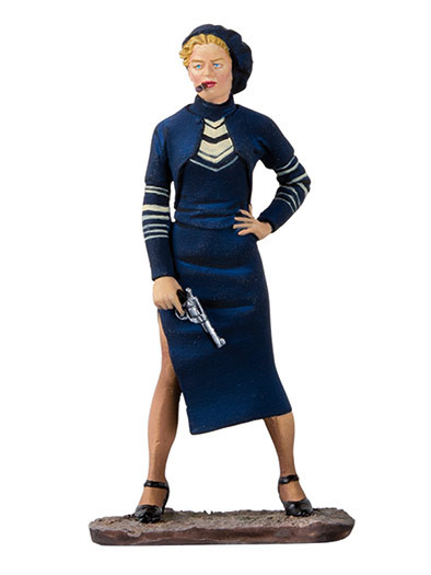 Black Hawk Toy Soldiers Bonnie Parker Figure  BH1208