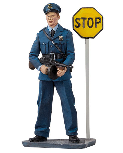 Black Hawk Toy Soldiers Highway Patrol Figure  BH1210