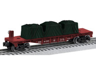 Lionel Trains 6-6-81203 Pennsylvania Flatcar O Gauge