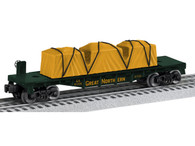 Lionel Trains 6-6-81206 Great Northern Flatcar O Gauge