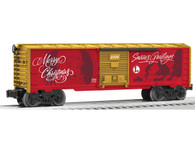 Lionel Trains 6-81316 Personalized Christmas Message Boxcar