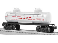 Lionel Trains 6-81494 Santa's Sleigh Rocket Fuel Tank Car
