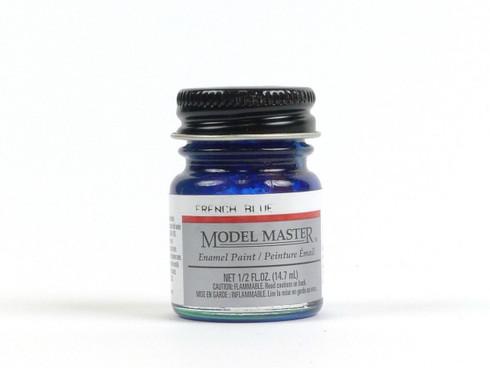 Testors 2715 French Blue Metallic Model Master Enamel Model Paint