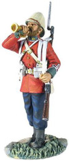 WBritain 20145 24th Foot Bugler Standing British Army