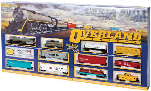 Bachmann Trains 00614 Union Pacific Overland Limited HO Scale