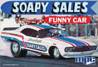 MPC Plastic Models 831 Soapy Sales Dodge Challenger Funny Car 1/25 Scale