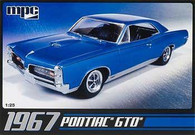 MPC Plastic Models 710 1967 Pontiac GTO Car 1/25 Scale