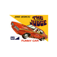 "MPC Plastic Models 784 Arnie Beswick ""The Super Judge"" 1969 Pontiac GTO Funny Car 1/25 Scale"