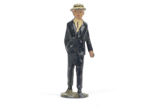 Johillco Toy Soldiers Railway Staff Young Man Passenger #135H
