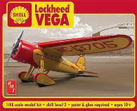 AMT 950 Plastic Models Shell Oil Lockheed Vega 1/48 Scale