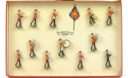 Britains Soldiers Salvation Army Marching Band Regiments of all Nations