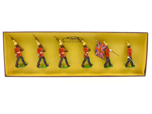 WBritain 8845 1st Regiment of Bombay Infantry Grenadiers Marching