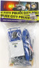 Billy V Police Action Play Set (Assorted) Plastic Toy Soldiers Bag Set 1/32 Scale